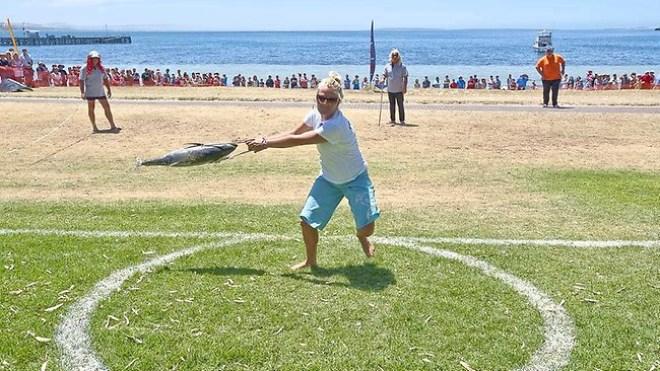arremesso de atum