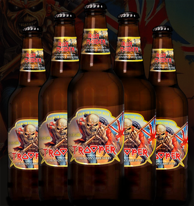 trooper beer iron maiden