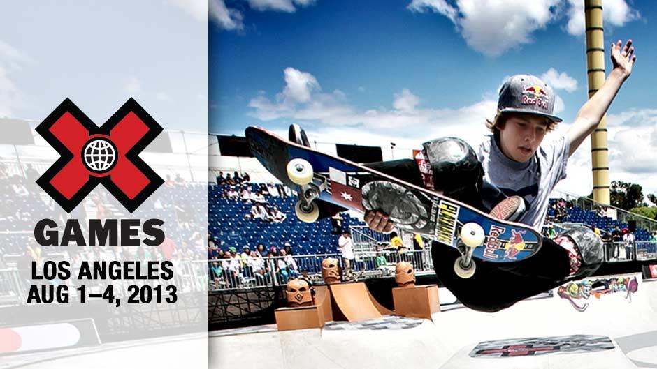 calendario x games los angeles 2013